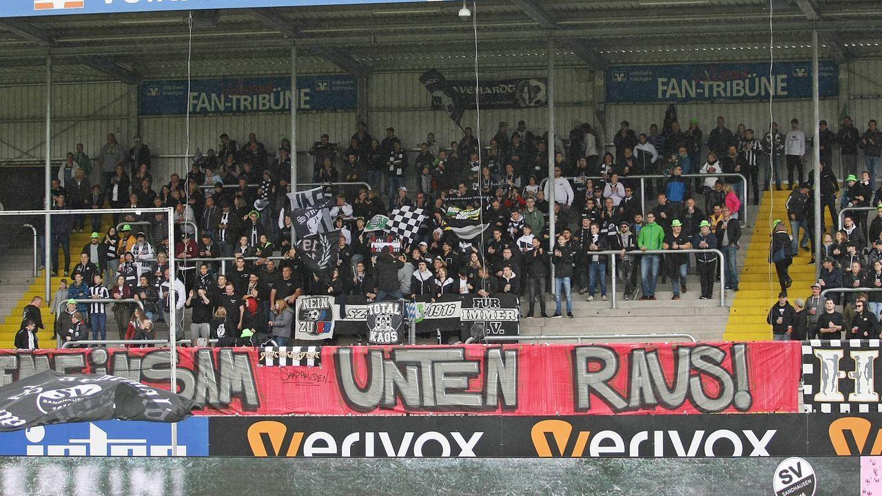 Platz 16: SV Sandhausen - Bildquelle: imago