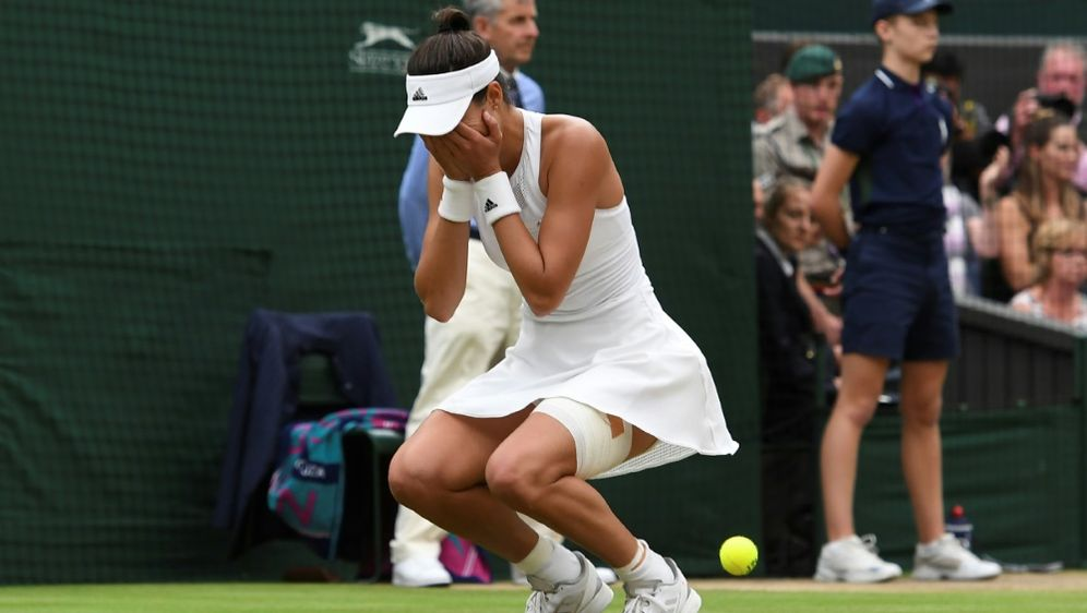 Garbine Muguruza gewann ihren ersten Wimbledon-Titel - Bildquelle: AFPAFPGlyn KIRK
