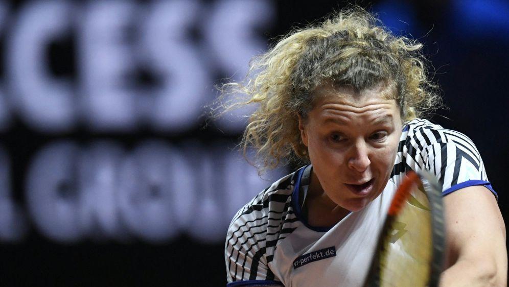 Anna-Lena Friedsam verpasst Viertelfinale von Stuttgart - Bildquelle: AFPSIDTHOMAS KIENZLE