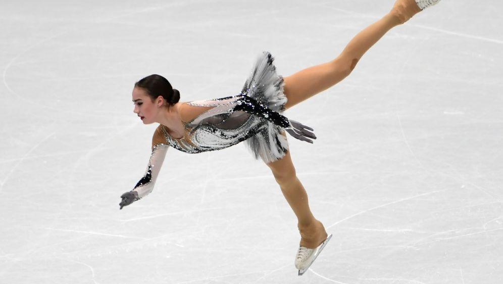 Alina Sagitowa kam auf insgesamt 238,45 Punkte - Bildquelle: AFPSIDMIGUEL MEDINA