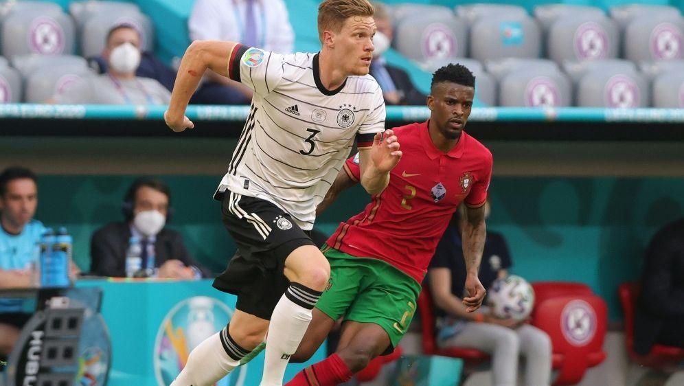 Halstenberg feierte gegen Portugal seine EM-Premiere - Bildquelle: FIROFIROSID