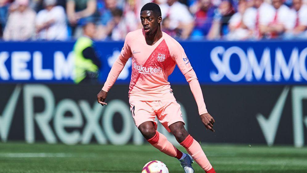Ousmane Dembeles Vertrag bei Barca läuft eigentlich noch bis 2022. - Bildquelle: 2019 Getty Images