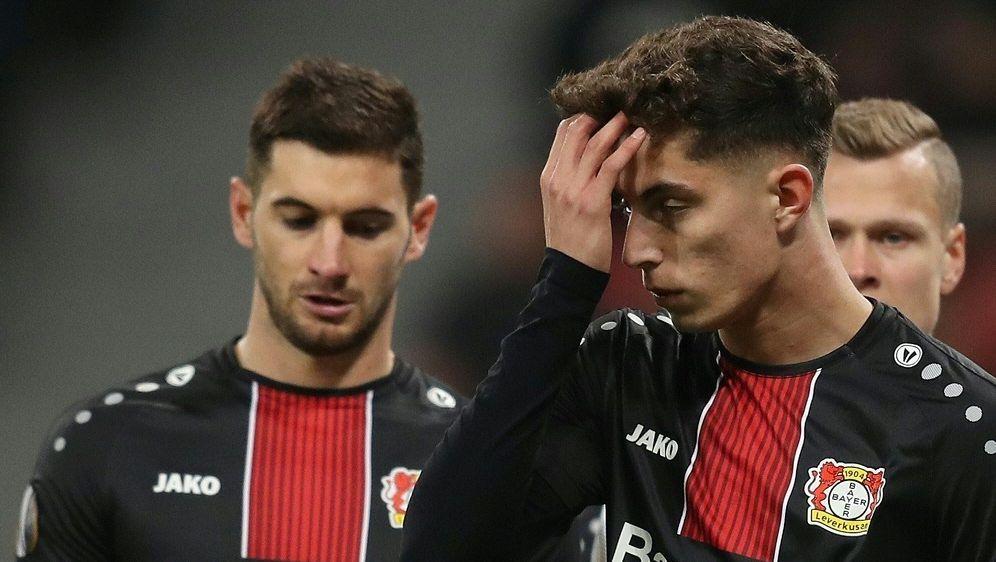 1:4-Niederlage für Kai Havertz und Bayer Leverkusen - Bildquelle: FIROFIROSID