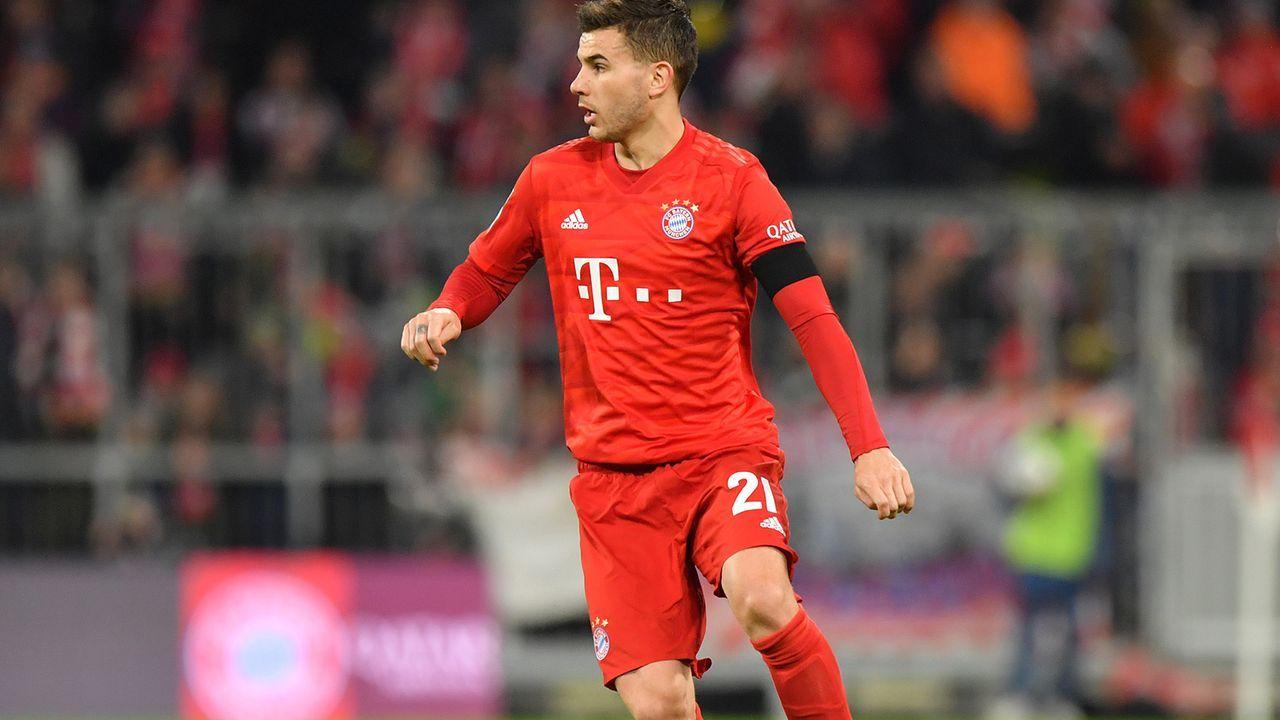FC Bayern: Lucas Hernandez (61. Minute)