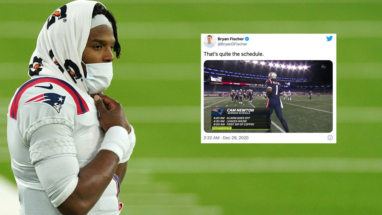New England Patriots: Nur fünf Stunden Schlaf! Newtons knallharter Zeitplan - Bildquelle: imago images/UPI Photo