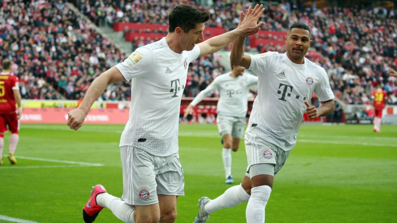 FC Bayern gelingt historischer Frühstart - Bildquelle: imago