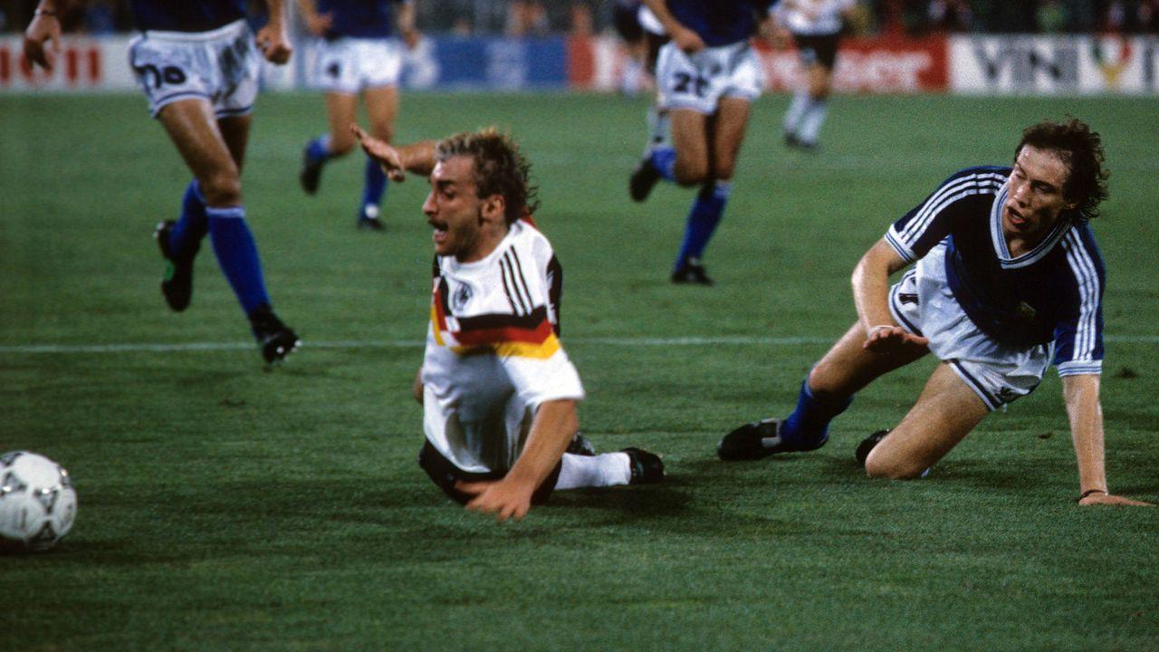 WM-Finale 1990: Argentinien - Deutschland - Bildquelle: imago sportfotodienst