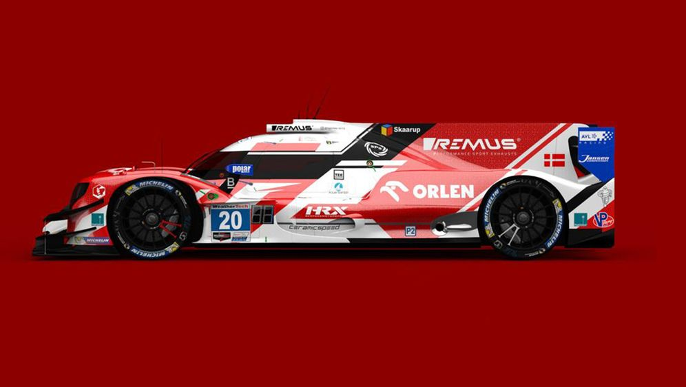 LMP2-Auto von High Class Racing - Bildquelle: High Class Racing