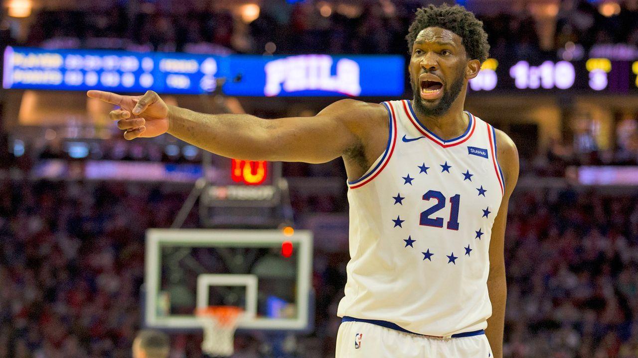 Joel Embiid (Philadelphia 76ers) - Bildquelle: 2019 Getty Images