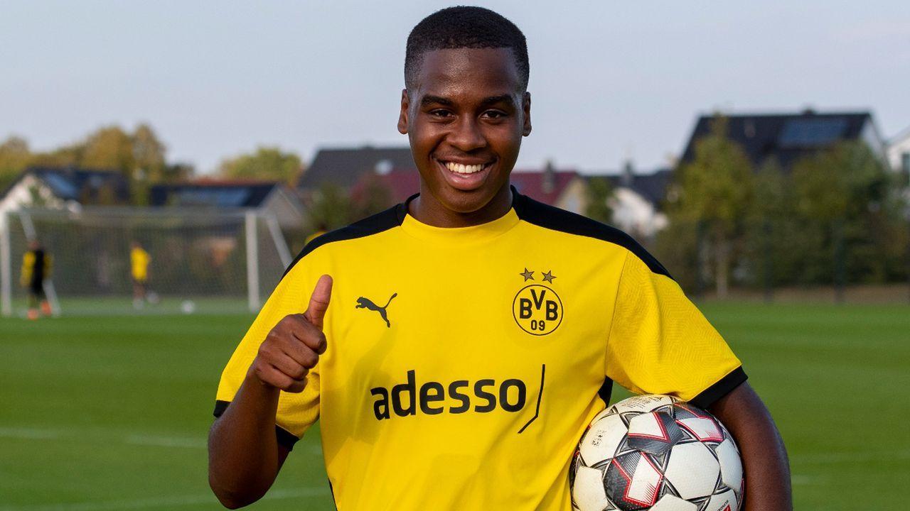 Jamie Bynoe-Gittens (Borussia Dortmund) - Bildquelle: twitter@bvb