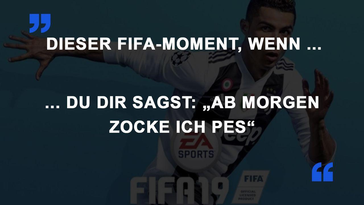 FIFA Momente PES