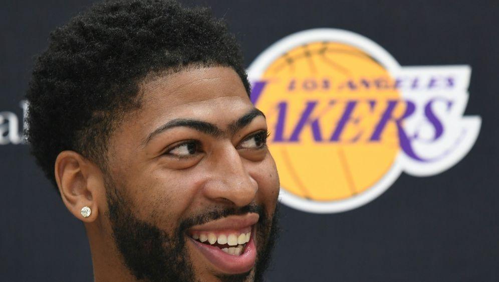 NBA: Anthony Davis wechselte 2019 zu den Lakers - Bildquelle: AFPSIDMARK RALSTON