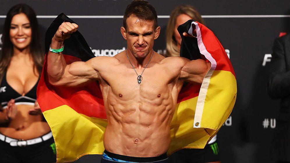 Nick Hein steht zum achten Mal im Octagon der UFC - Bildquelle: Getty Images