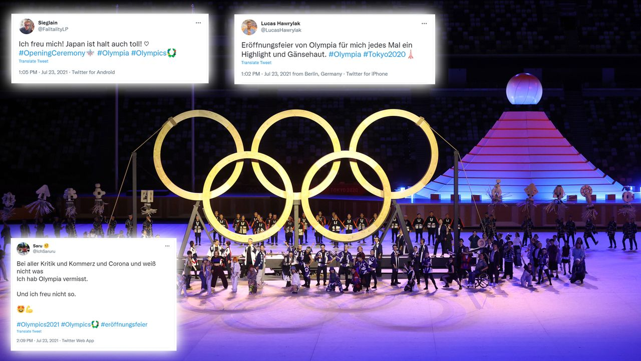 Die Netzreaktionen zur Eröffnungsfeier der Olympischen Spiele in Tokio - Bildquelle: 2021 Getty Images