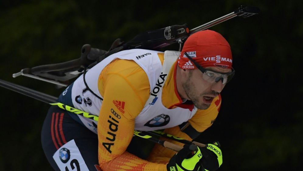 Arnd Peiffer wird Zweiter in Oberhof - Bildquelle: AFPSIDTOBIAS SCHWARZ