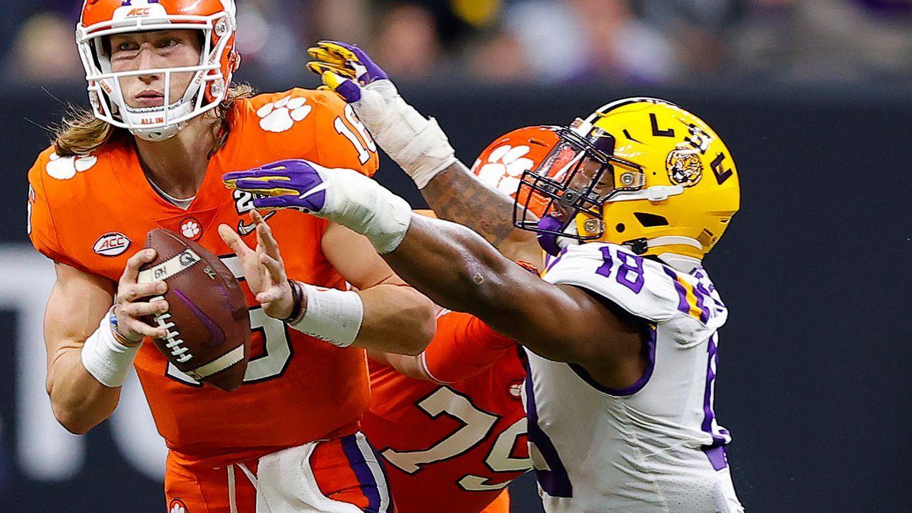K'Lavon Chaisson, Outside Linebacker - Bildquelle: 2020 Getty Images