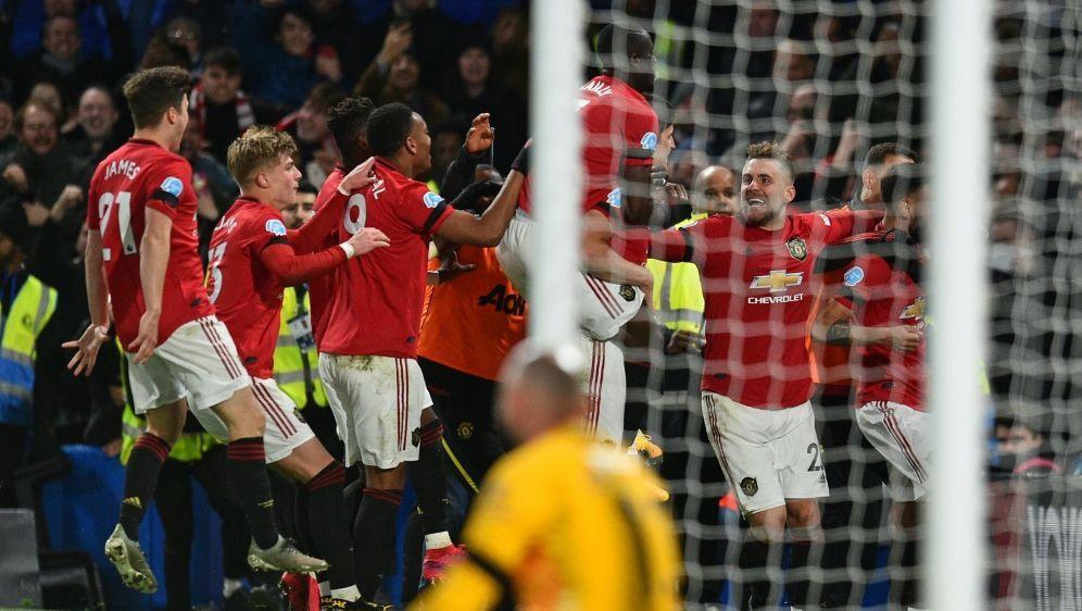 Manchester United feiert souveränen Sieg beim FC Chelsea - Bildquelle: AFPSIDGLYN KIRK