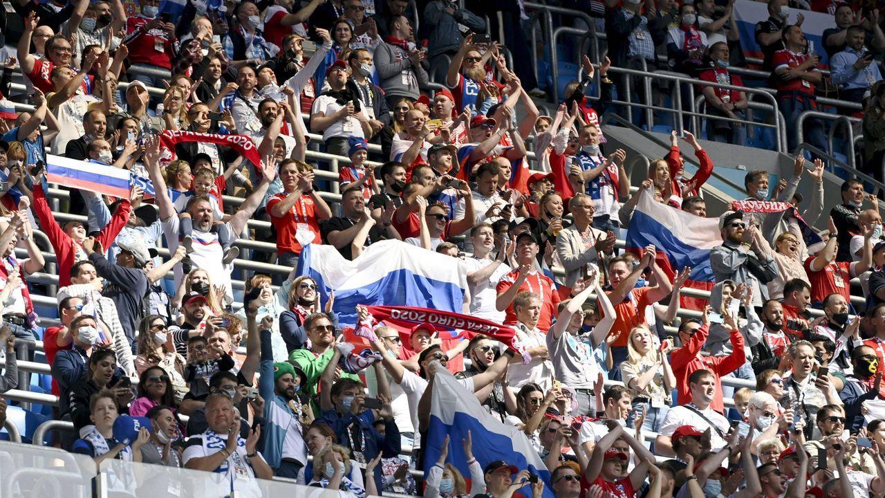 Russland holt die ersten drei Punkte - Bildquelle: imago images/Lehtikuva