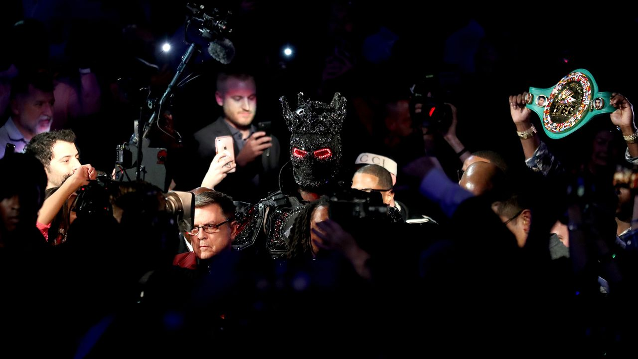 Einmarsch Deontay Wilder - Bildquelle: 2020 Getty Images