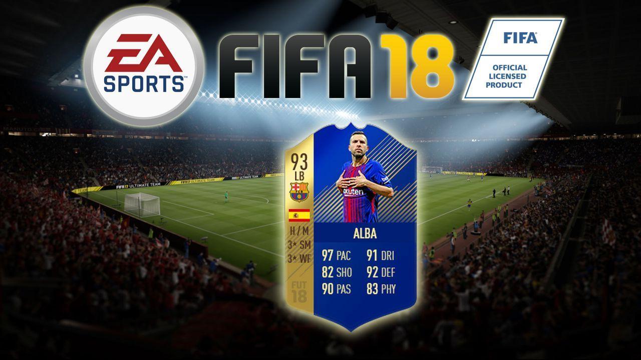 Jordi Alba - Bildquelle: EA Sports