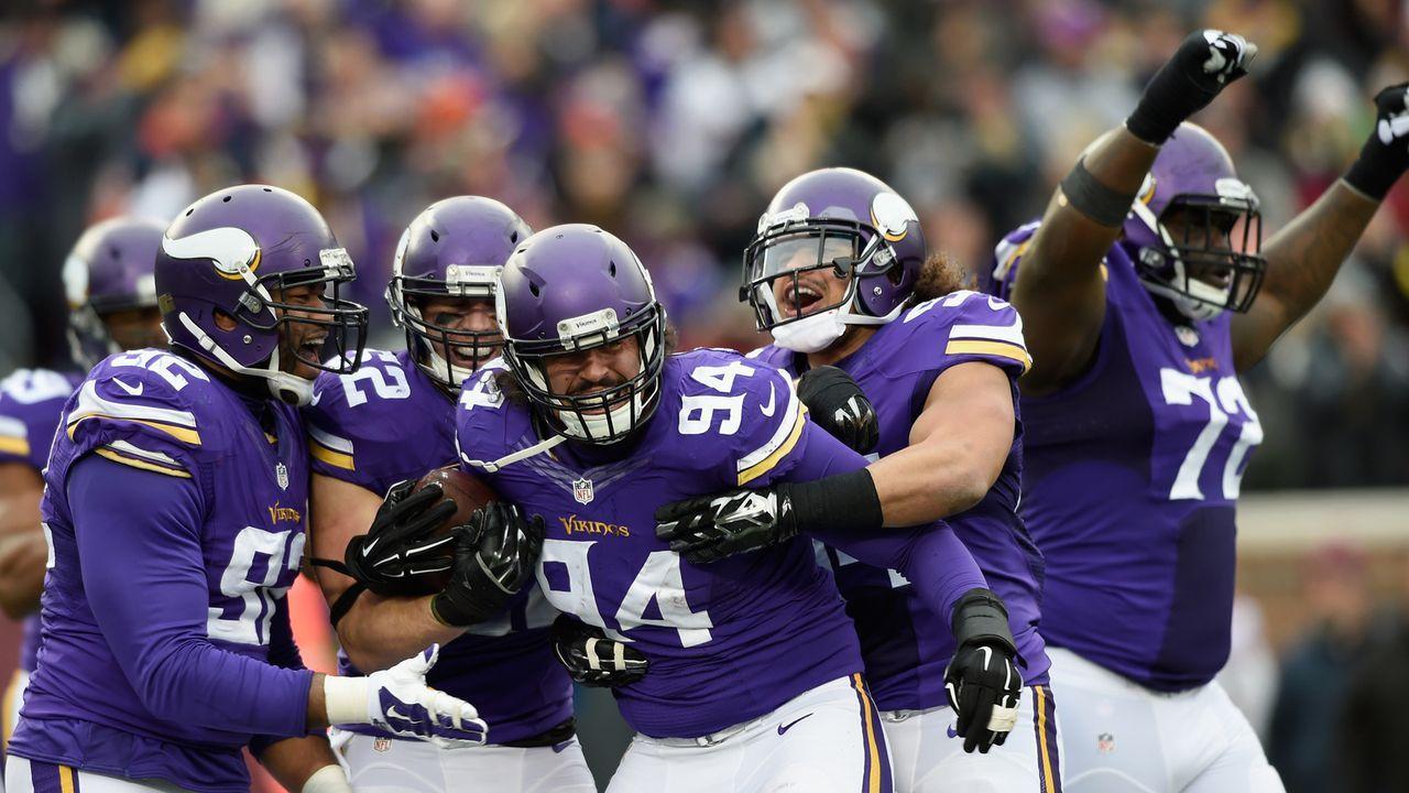 Platz 5: Minnesota Vikings - Bildquelle: Getty Images