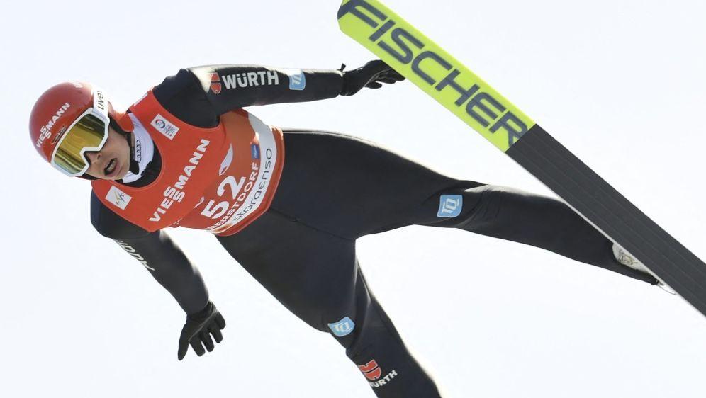 Frenzel wird Vierter auf der Normalschanze - Bildquelle: AFPSIDCHRISTOF STACHE