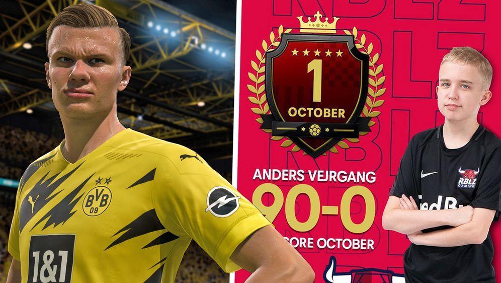 Gehört mit 14 Jahren bereits zu den besten FIFA-Spielern der Welt:Anders Ve... - Bildquelle: EA Sports / https://twitter.com/rblz_anders