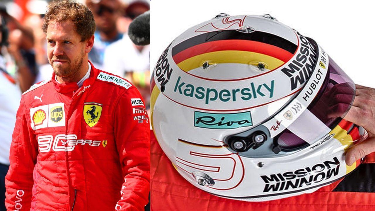 Sebastian Vettel (Scuderia Ferrari) - Bildquelle: Twitter: Scuderia Ferrari