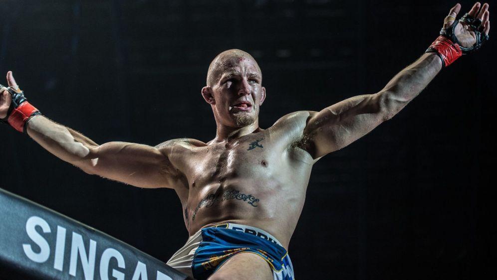 Zebaztian Kadestam verteidigte seinen ONE-Titel im Weltergewicht - Bildquelle: ONE Championship