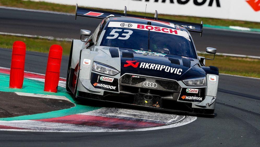 Hat das Rosberg-Team Jamie Green bewusst als Prellbock gegen Nico Müller gen... - Bildquelle: Audi