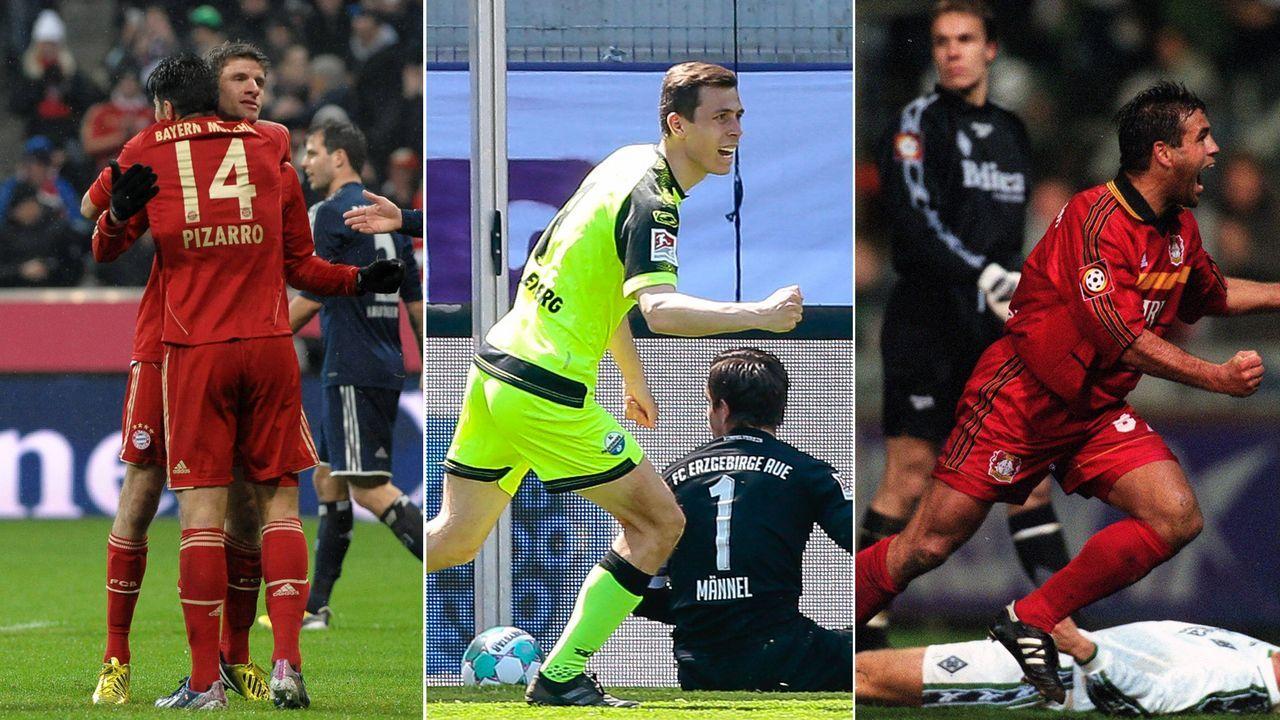 Die torreichsten Bundesliga- und Zweitliga-Spiele seit 25 Jahren - Bildquelle: Imago
