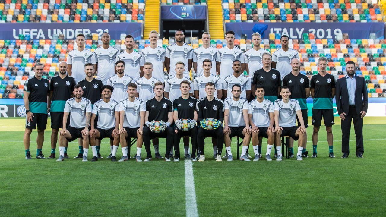 Der Kader der U21 für die EM in Italien und San Marino - Bildquelle: DFB