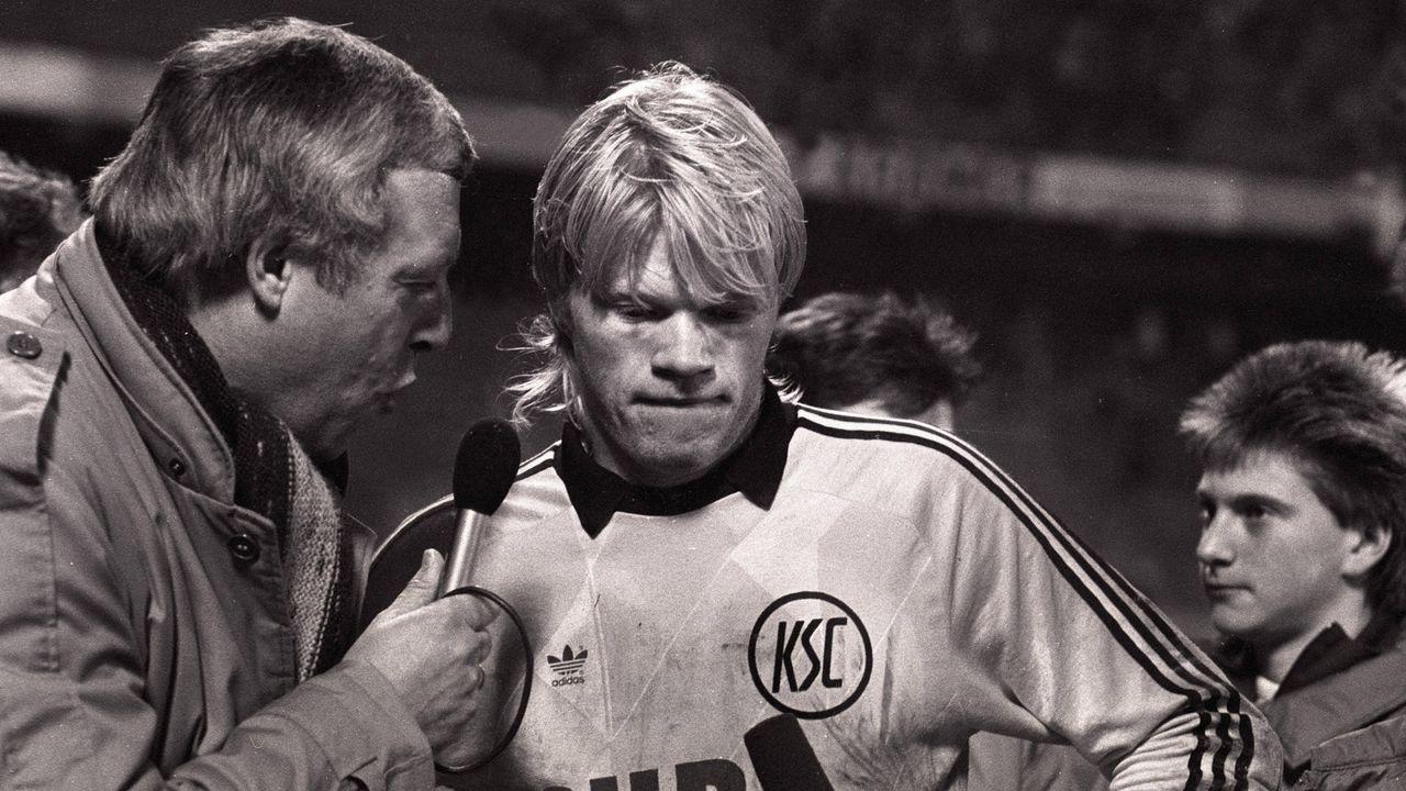 Alles begann in Karlsruhe - Debüt im Kasten 1987 - Bildquelle: imago/Horstmüller