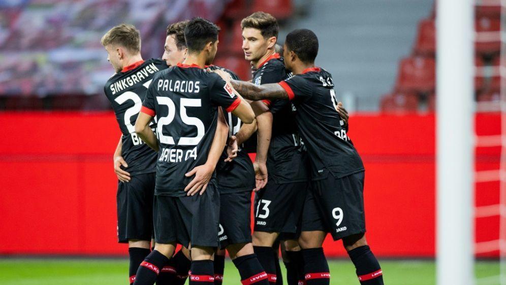 Bayer 04 spielt am Donnerstag gegen Slavia Prag - Bildquelle: ROLF VENNENBERNDPOOLAFPROLF VENNENBERNDPOOLAFPROLF VENNENBERND