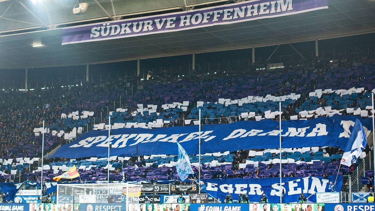 Platz 12: TSG 1899 Hoffenheim - Bildquelle: imago sportfotodienst