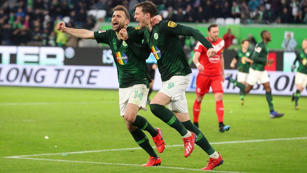 Wolfsburg dreht die Partie und gewinnt 5:2 - Bildquelle: Imago