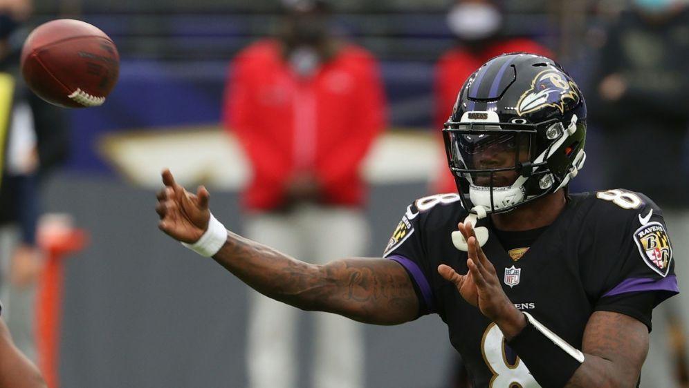 Pittsburgh gegen Baltimore erneut verschoben. - Bildquelle: AFPGETTYSIDP