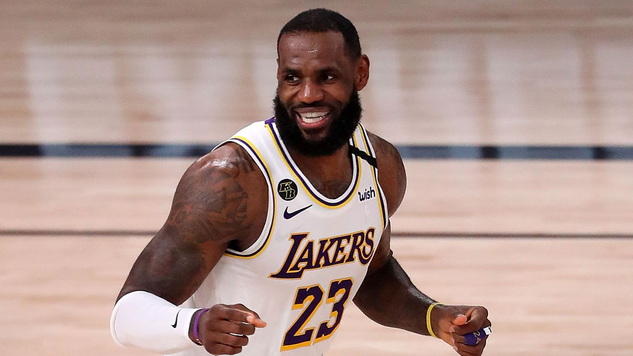 Platz 1: LeBron James - Bildquelle: 2020 Getty Images