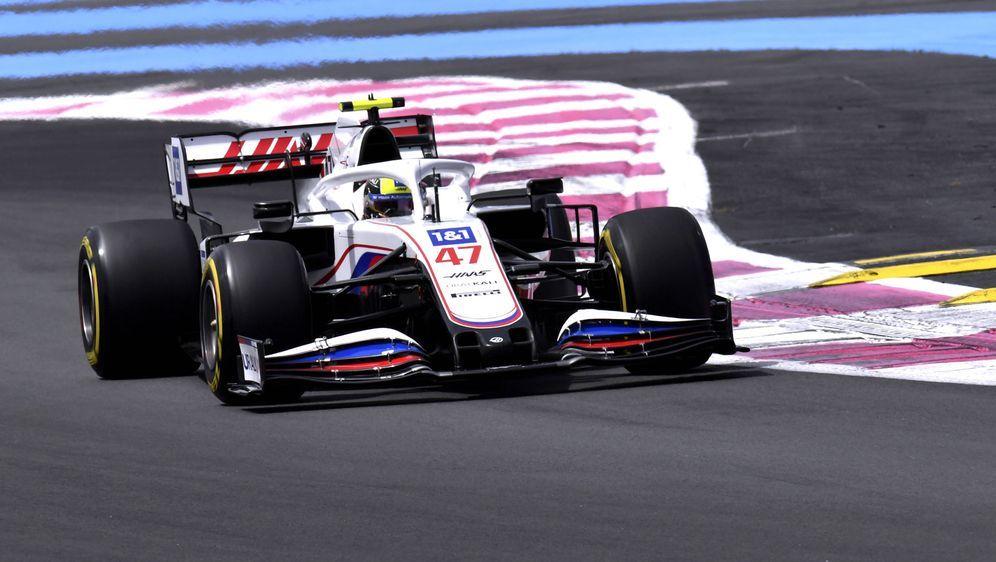 Q2 in Frankreich erreicht, aber die Session verpasst: Mick Schumacher erlebt... - Bildquelle: imago