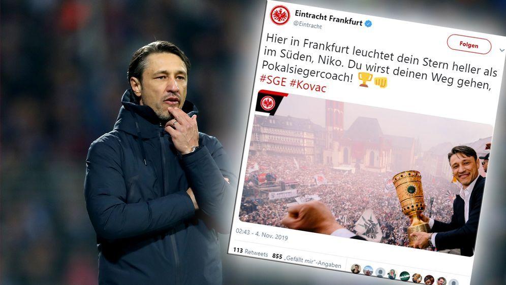 Kovac erhält nach Bayern-Aus Unterstützung aus Frankfurt - Bildquelle: Getty Images