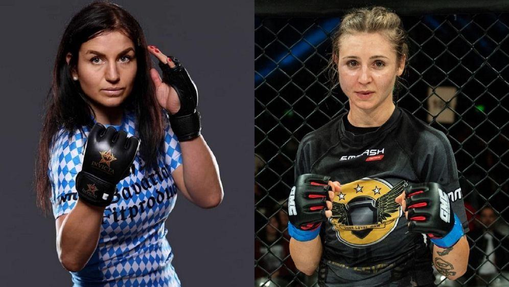 Katharina Lehner und Anna Isabella Hübsch kämpfen bei GMC 24 - Bildquelle: Invicta FC / GMC/Foto Seven Sport