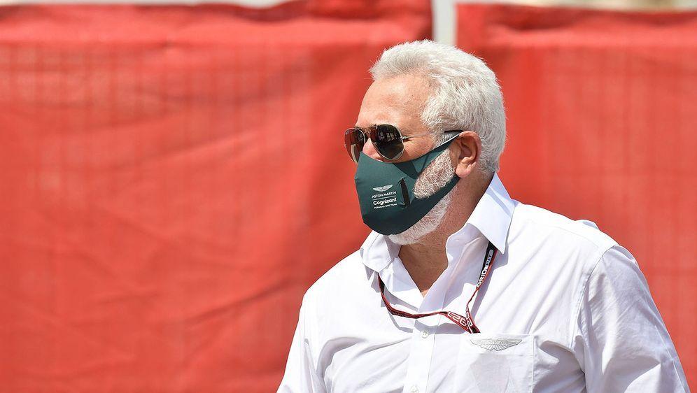 Lawrence Stroll ist Teambesitzer von Aston Martin. - Bildquelle: imago images/Nordphoto