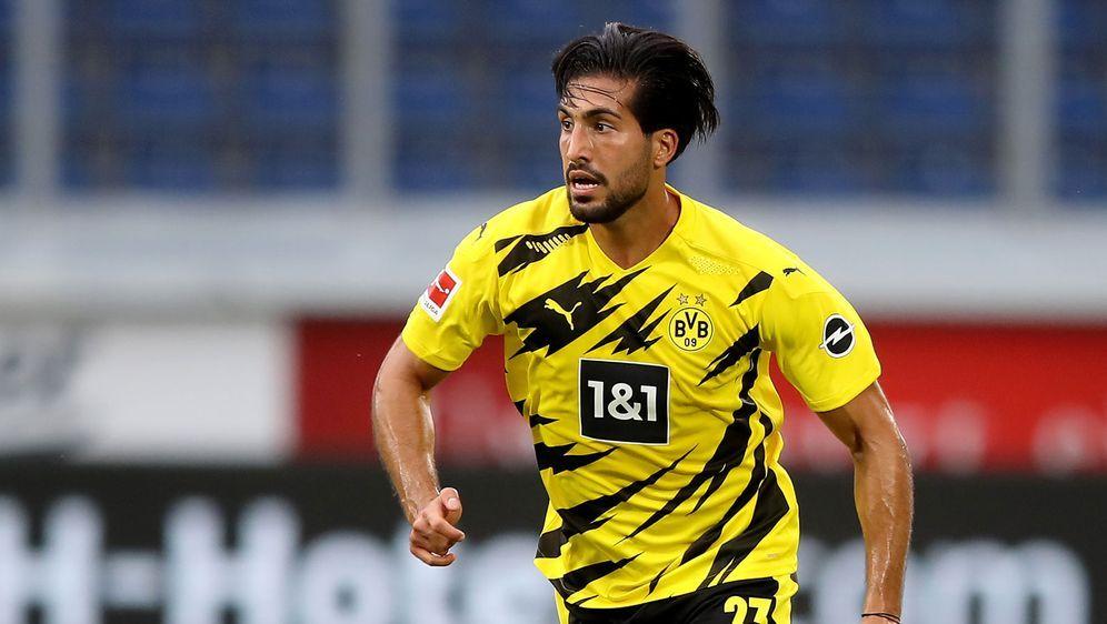 Der Dortmunder Emre Can wurde positiv auf Covid-19 getestet. - Bildquelle: 2020 Getty Images