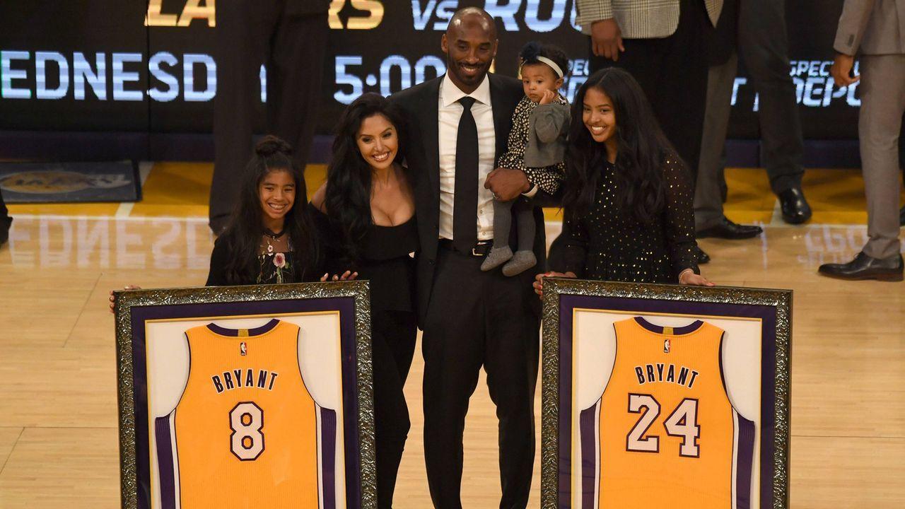 Nummer 8 und 24 bei den Lakers nicht mehr vergeben - Bildquelle: Getty Images