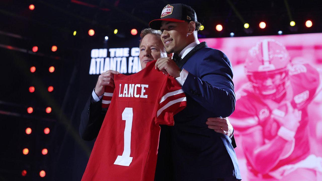 Trey Lance (Quarterback/San Francisco 49ers) - Bildquelle: getty