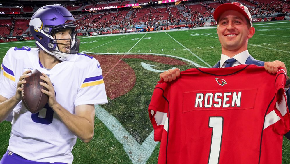 Sam Bradford (l.) oder Josh Rosen - wer führt die Cardinals zurück auf die E... - Bildquelle: Imago
