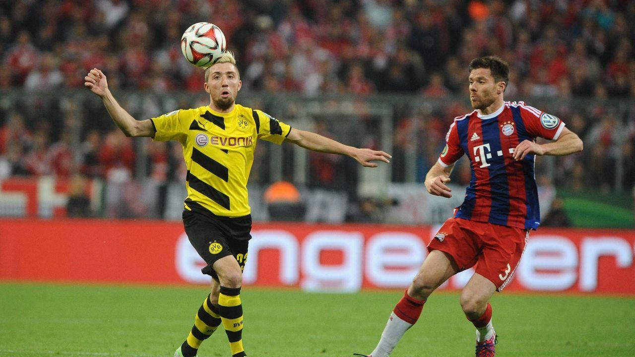 Kampl bezwang Bayern schon im Pokal - und flog vom Platz - Bildquelle: imago/Eibner