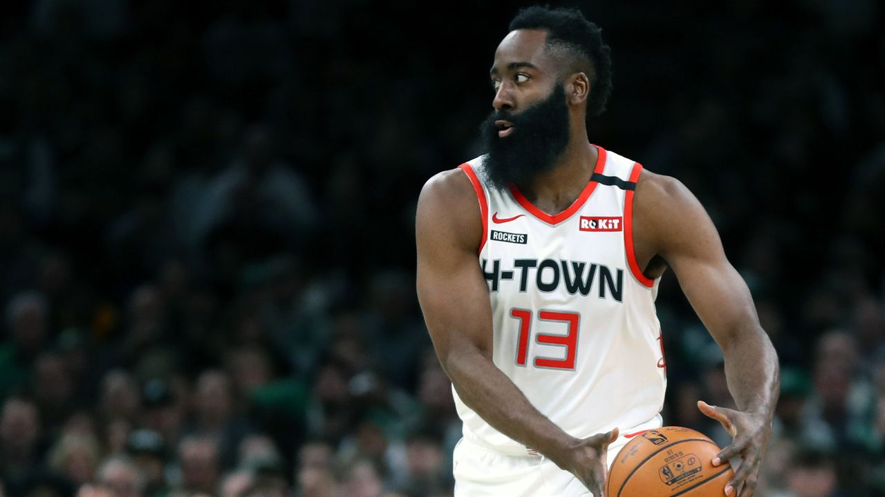 Platz 17 - James Harden (Basketball) - Bildquelle: 2020 Getty Images