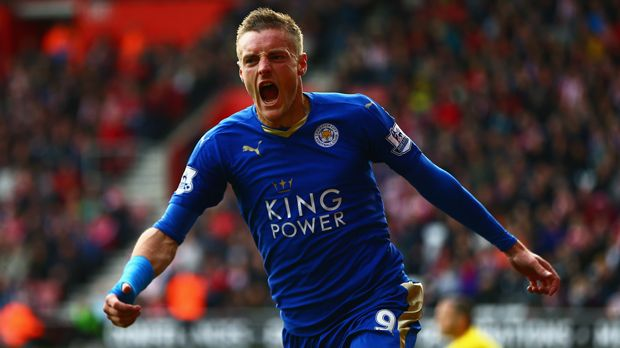 Jamie Vardy - Bildquelle: 2015 Getty Images