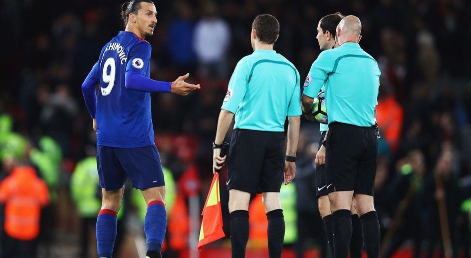 Zlatan Ibrahimovic Schiedsrichter - Bildquelle: 2016 Getty Images